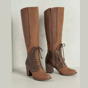 Anthropologie TARA SADDLE BOOTS by FARYLROBIN